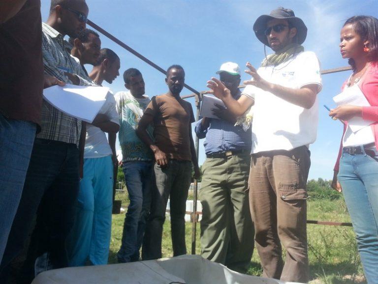 סדנת אקוופוניקה באתיופיה בשיתוף ארגון המזון הבינלאומי