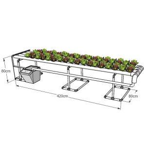 מערכת הידרופוניקה 'אופק', 76 צמחים