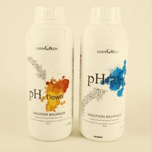 מארז מאזני חומציות למערכות הידרופוניקה: pH Down, pH Up
