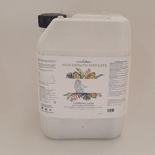 דשן נוזלי למערכות הידרופוניות 10 ליטר