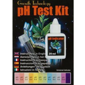 קיט לבדיקת pH במערכות הידרופוניות Growth Technology
