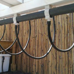צינורית 4\7 לתעלות מלבניות- גליל של 100 מטר